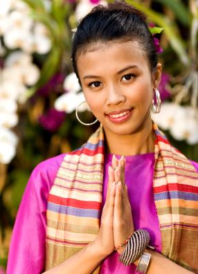 Вай-тайское приветствие