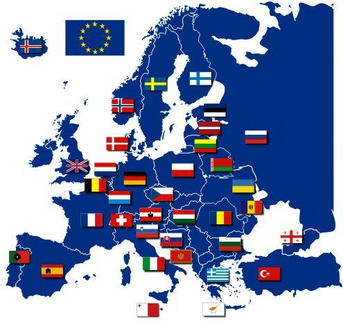 51 страна европа