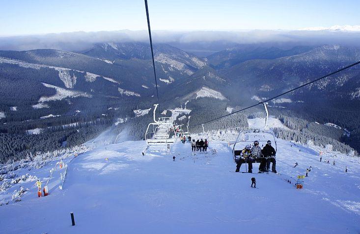 горные лыжи словакия