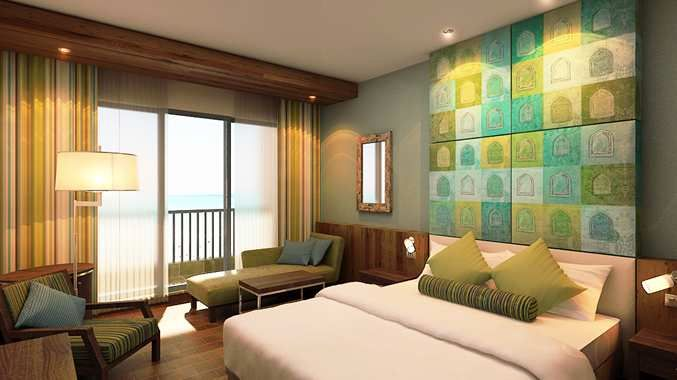 marjan island resort room
